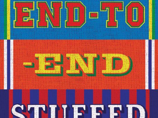 Ginsters Print Ad -  Stuffed