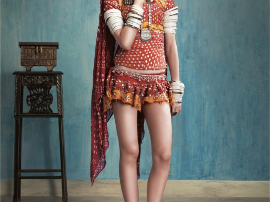 Morphy Richards Print Ad -  Girl from Rajasthan