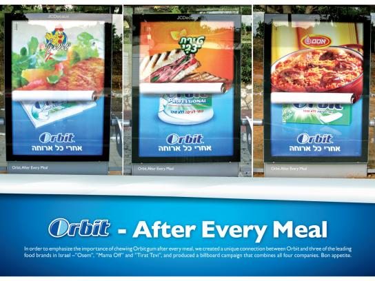 Wrigley's Outdoor Ad -  After every meal