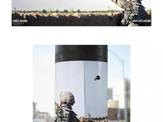 Global Coalition for Peace Outdoor Ad -  Grenade