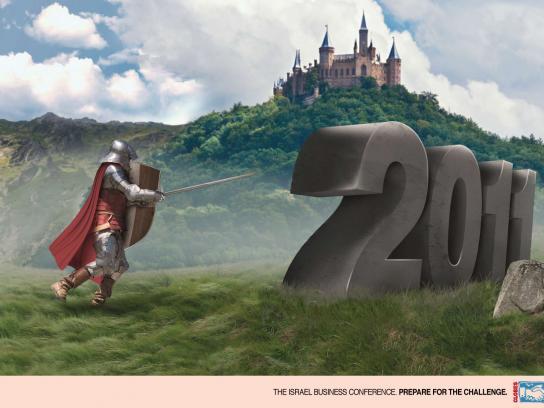 Globes Print Ad -  Knighthood