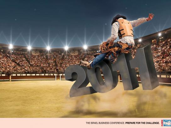 Globes Print Ad -  Rodeo
