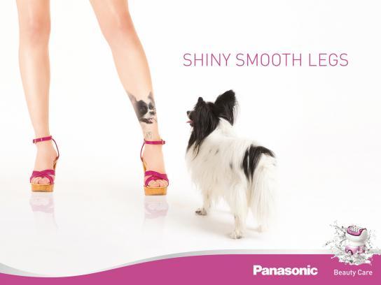 Panasonic Print Ad -  Shiny smooth legs