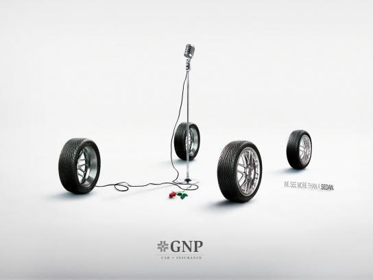 GNP Print Ad -  Micro