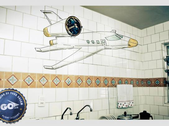 Go Air Flight Academy Print Ad -  Kitchen