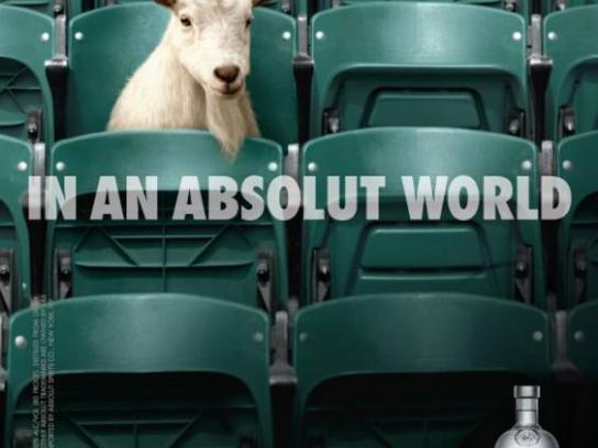 Absolut Print Ad -  Goat