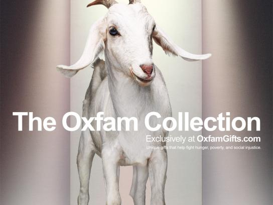 Oxfam Print Ad -  Goat