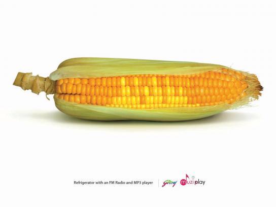 Godrej Print Ad -  Corn