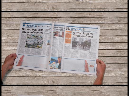 The Gold Coast Bulletin Print Ad -  The secret to bigger, better fishing