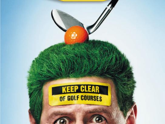 Today FM Print Ad -  Golf