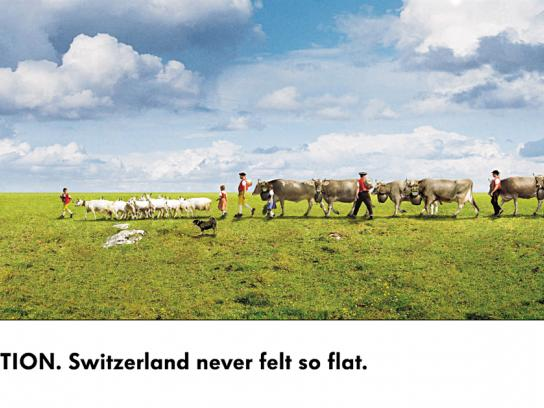 Volkswagen Print Ad -  Grass