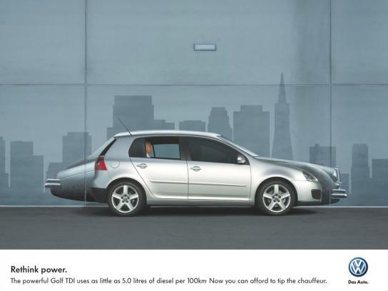 Volkswagen Print Ad -  Silver