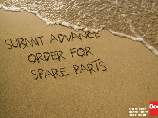 Good Access Print Ad -  Beach