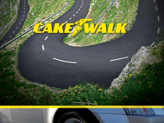 Goodyear Print Ad -  Cake Walk