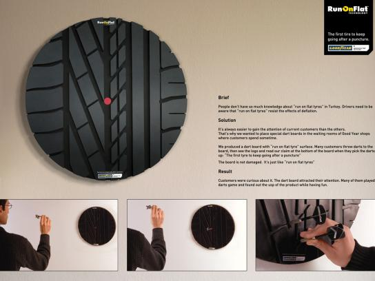 Goodyear Ambient Ad -  RunOnFlat