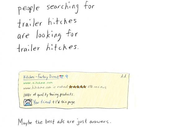 Google Print Ad -  Trailer Hitches