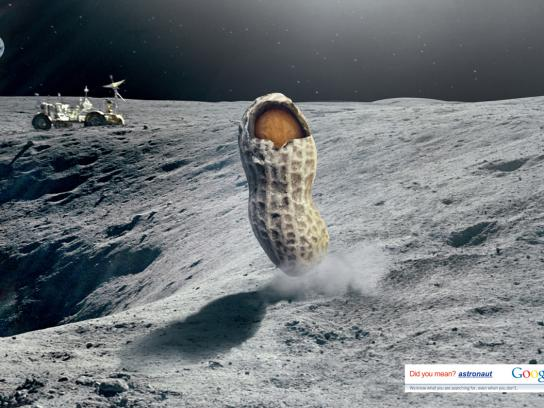Google Print Ad -  Did you mean Astronaut?