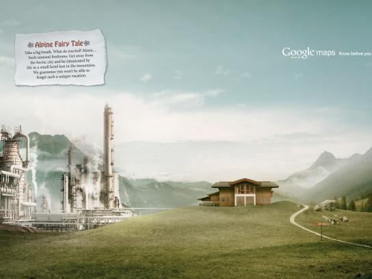 Google Print Ad -  Powerstation