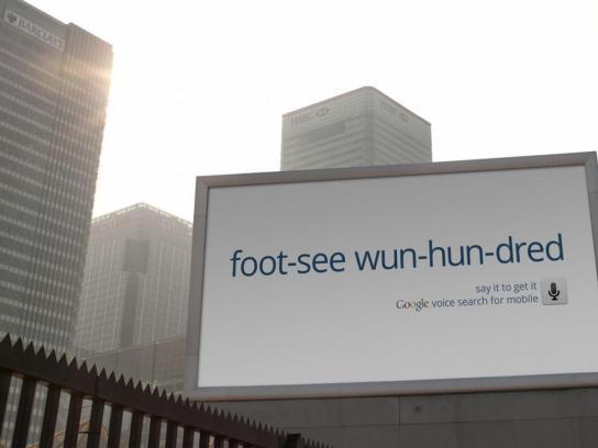 Google Outdoor Ad -  FTSE 100