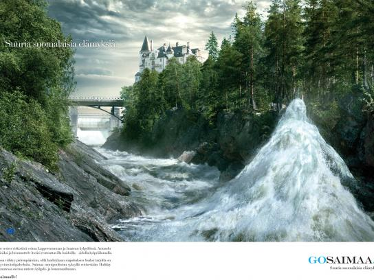GoSaimaa.com Print Ad -  Great Finnish Experiences, 2