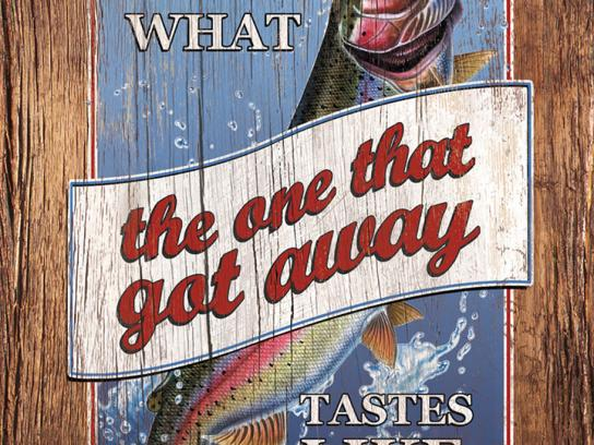Legal Sea Foods Print Ad -  Got away