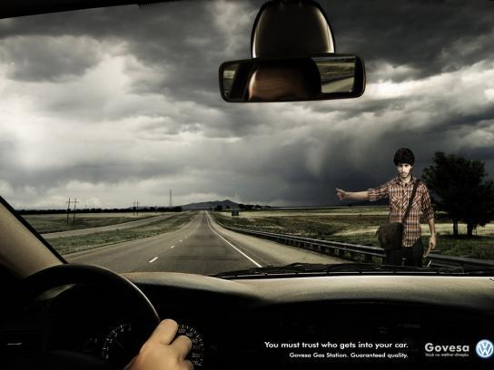 Govesa Print Ad -  Axe