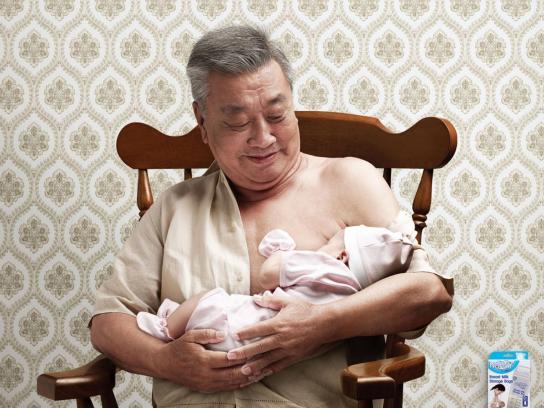 Nanny Print Ad -  Grandpa