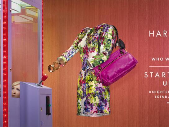 Harvey Nichols Print Ad -  Grabber