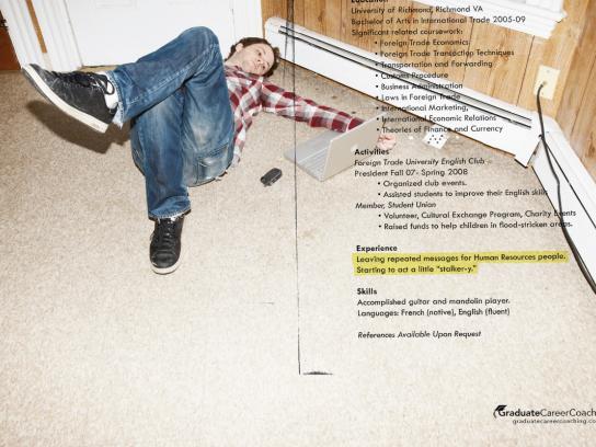 Graduate Career Coaching Print Ad -  Experience, 3