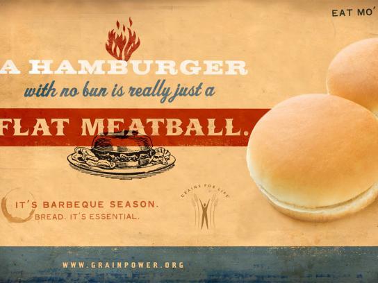 Flat meatball