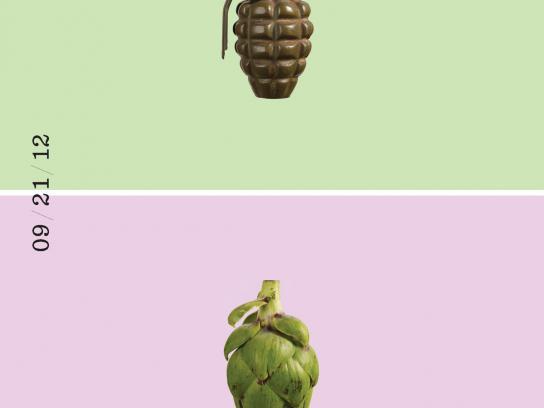 Recipeace Print Ad -  Grenade
