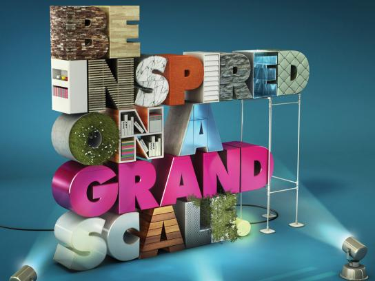 Grand Designs Live Print Ad -  Be Inspired on a Grand Scale