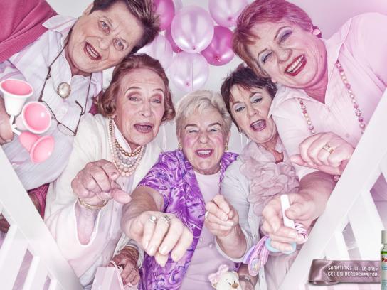 Panado Print Ad -  Grannies
