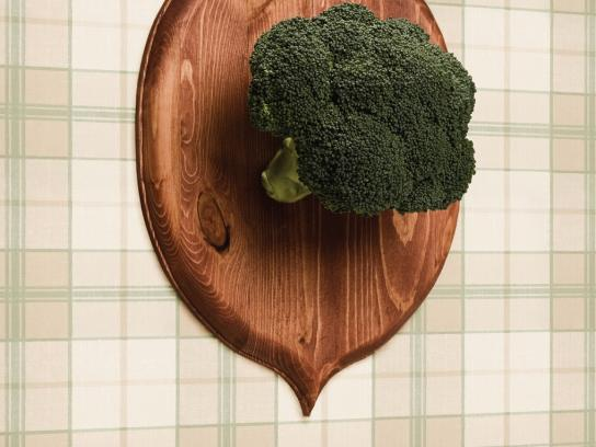 Gratitude Cafe Print Ad -  Broccoli