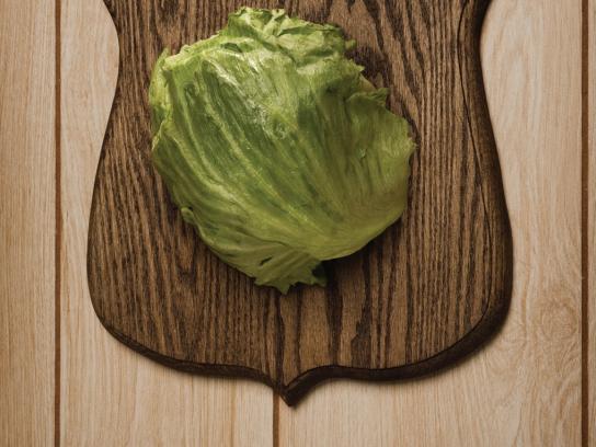 Gratitude Cafe Print Ad -  Lettuce
