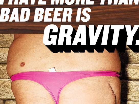 Ethel's Brew Print Ad -  Gravity
