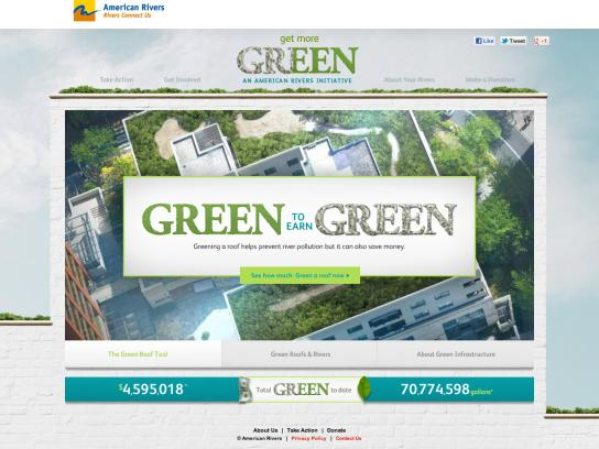 American Rivers Digital Ad -  Get more green