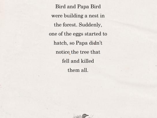 Greenpeace Print Ad -  Birds