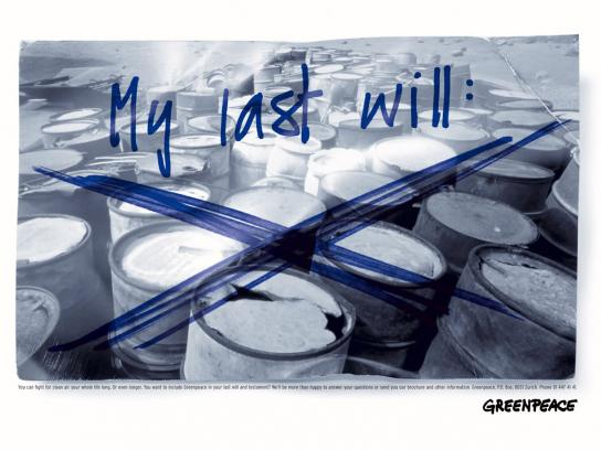 Last will, 2