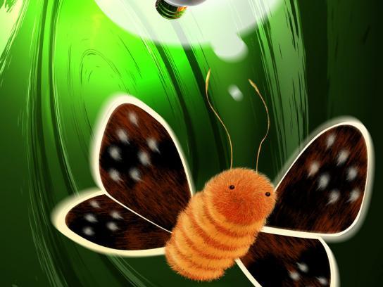 Greenpeace Print Ad -  Moth