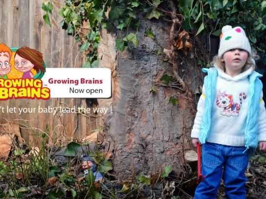 Growing Brains Print Ad -  Garden