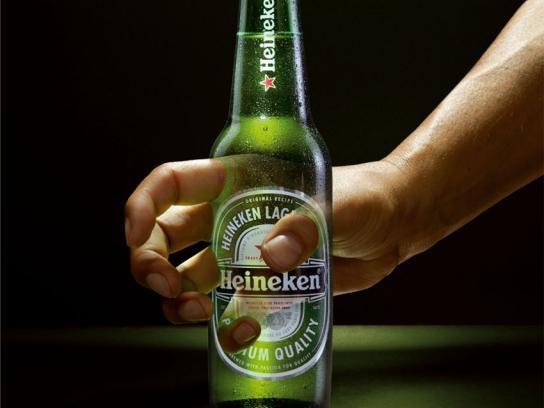 Heineken Print Ad -  Halloween Hand