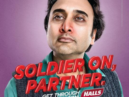 Halls Print Ad -  Partner