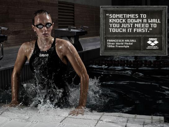 Arena Print Ad -  Halsall