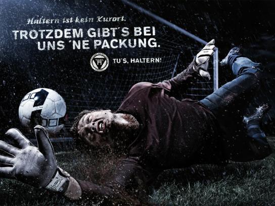 TUS Haltern Print Ad -  Mud pack