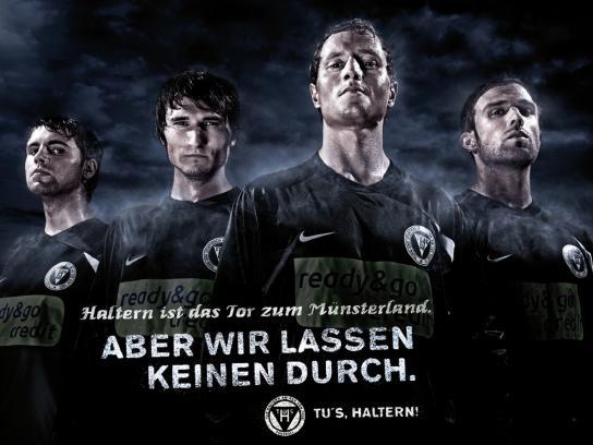 TUS Haltern Print Ad -  Gateway