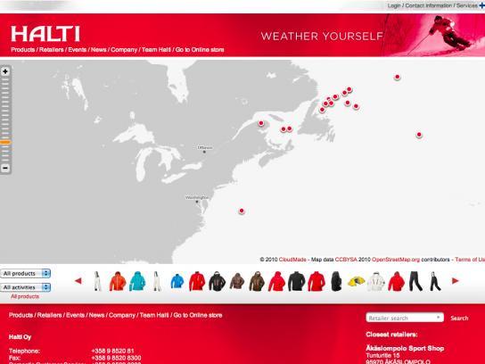Halti Digital Ad -  Weather yourself