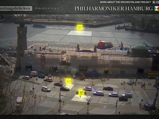 Philharmoniker Hamburg Digital Ad -  Sounds of Hamburg