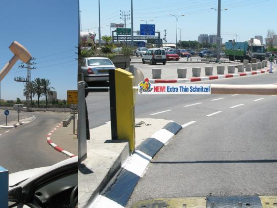 Mama Of' Ambient Ad -  Parking lot hammer barrier