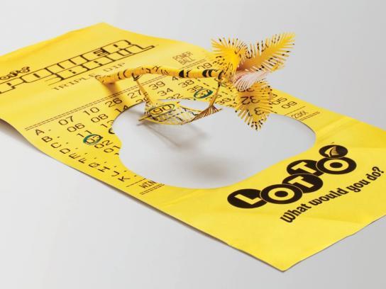 Lotto Print Ad -  Hammock